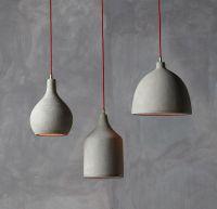 25+ best ideas about Concrete lamp on Pinterest   Diy ...