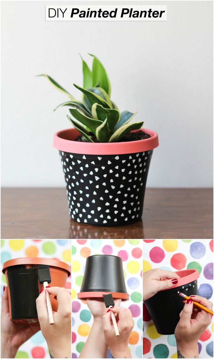 25 Best Ideas About Painted Plant Pots On Pinterest Painted
