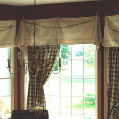 Kitchen Window Curtains Confidential Book Feed Sacks And Clothes Pins For Valances | The Home ...