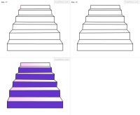 How to draw Stair for kids step by step drawing tutorial ...