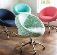 cute PBteen chairs   Dream Room   Pinterest   Cute desk ...