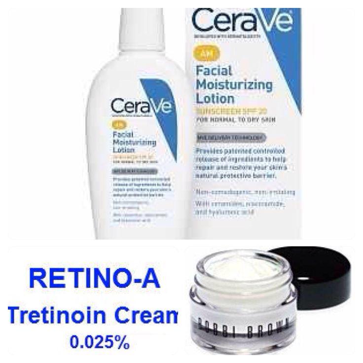 best moisturiser to use with retin a
