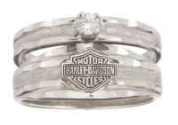 harley davidson wedding and engagement rings | Harley ...
