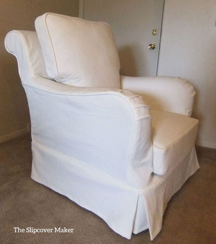 9 best images about Peggys White Denim Slipcover on