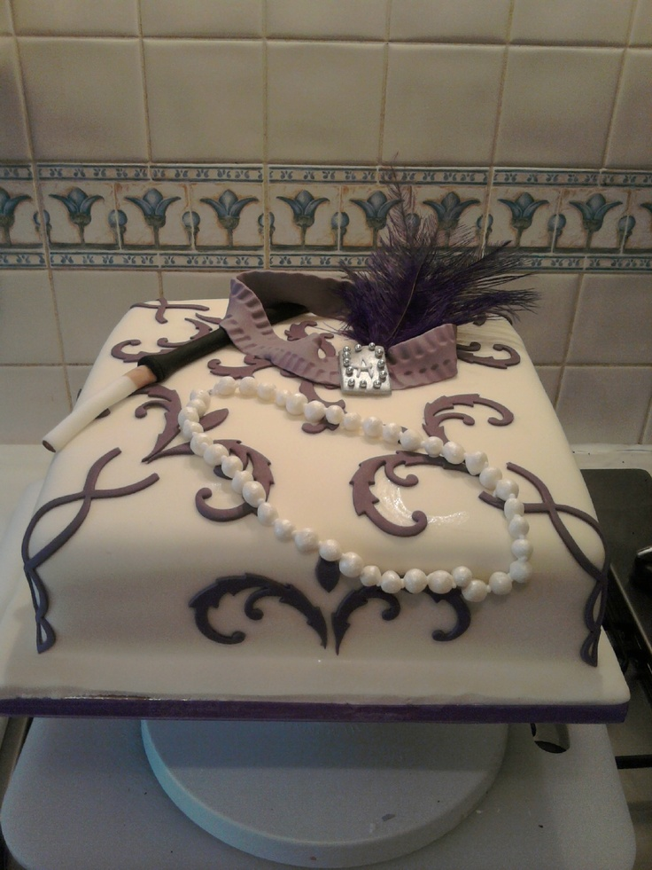 17 Best images about 1920s cake on Pinterest  Art deco style Cakes and Wedding cakes