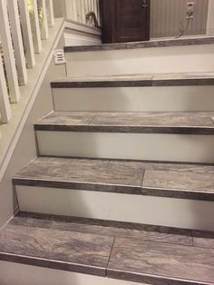 25+ best ideas about Tile stairs on Pinterest