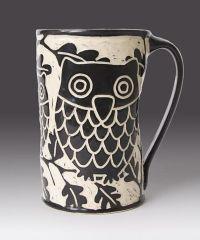 Owl Mug by Jennifer Falter: Ceramic Mug | Artful Home ...