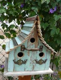 1000+ ideas about Rustic Birdhouses on Pinterest ...
