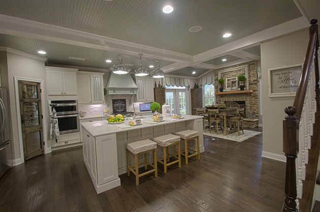Fischer Homes  Marshall Model Interior  Our House