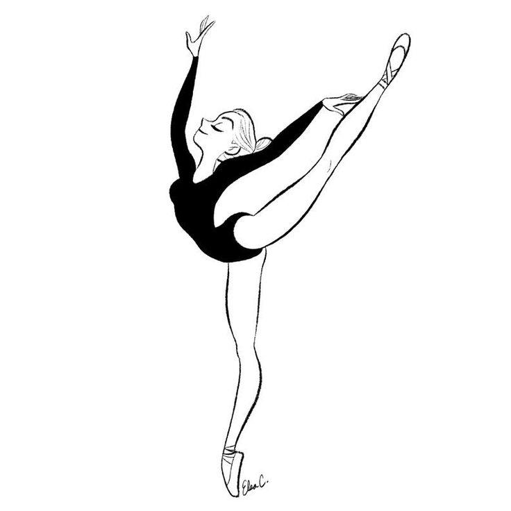 25+ Best Ideas about Ballet Drawings on Pinterest