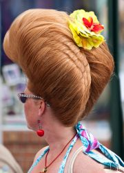 bouffant hairdos