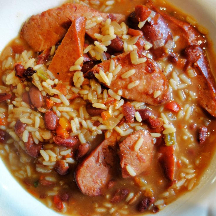 beans and rice from see more 7 red recipes zatarain s