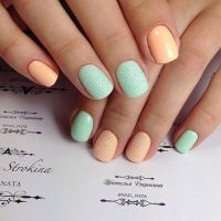 Best 20+ Two Color Nails ideas on Pinterest | Summer nails ...