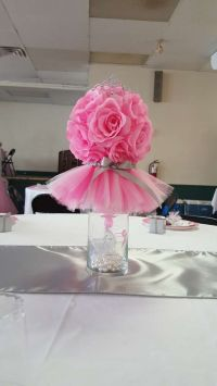 Tutus and Tiaras Baby Shower Party Ideas | Baby shower ...