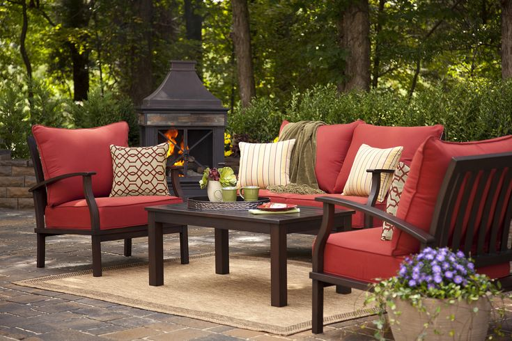 Bring comfort and style to your patio with the allen