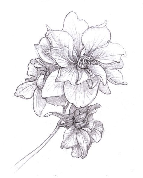 June Birth Flower Tattoo