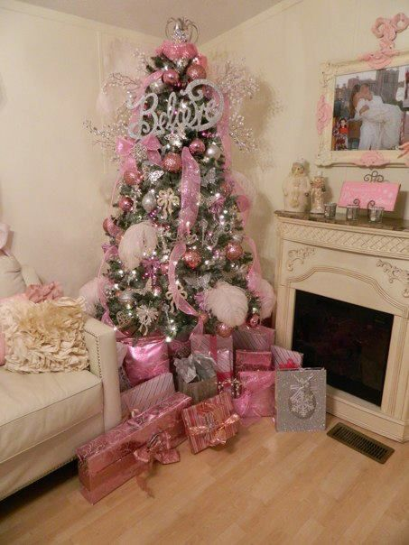 Pink Tree By Coeny I Like The Pink Gifts To Match The