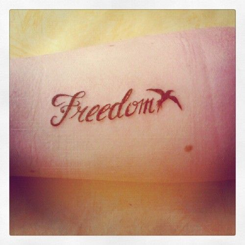 20 Freedom Tattoos On Hand Ideas And Designs