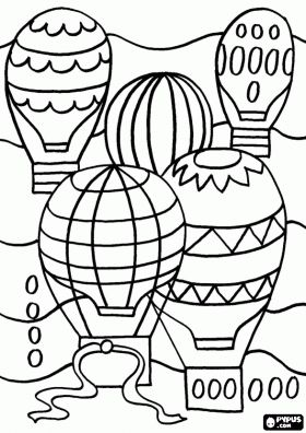 91 best Adult Colouring~Hot Air Balloons images on Pinterest