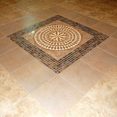 17 Best ideas about Tile Floor Designs on Pinterest