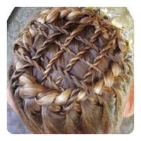 Woven braided crown fantasy hairstyle | Unique Hairstyles ...