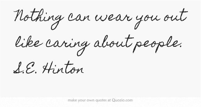S. E. Hinton Quotes. QuotesGram