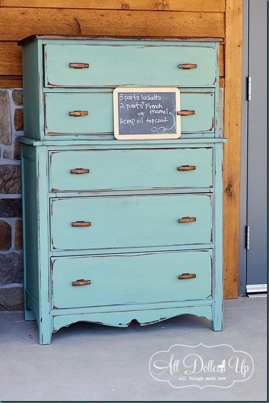 1000 images about Milk Paint Furniture on Pinterest