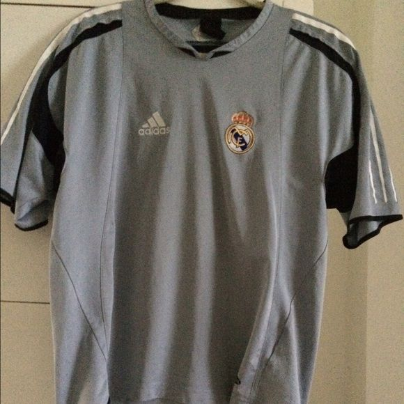 adidas real madrid training jersey size s