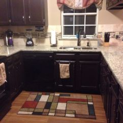 Menards Kitchen Faucets Chalk Board The Final Product: Sherwin-williams Black Bean Painted ...