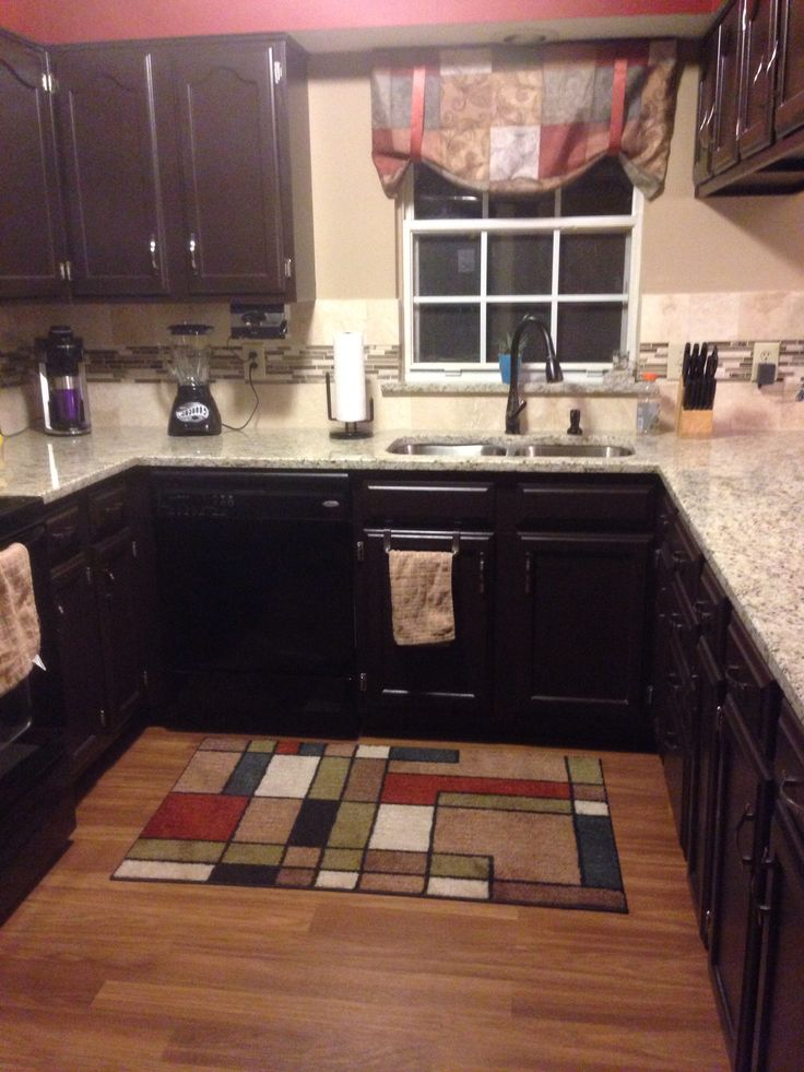 The Final Product Sherwin Williams Black Bean Painted
