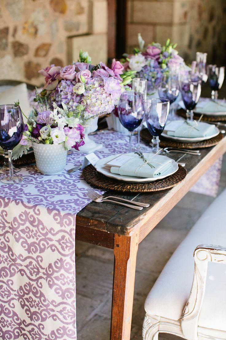 A Romantic Lilac  Lavender Wedding Inspiration Board