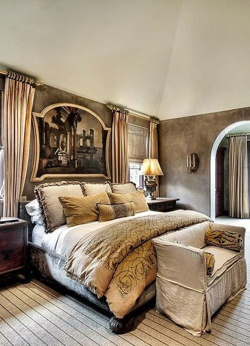 living room fancy curtains regency furniture 25+ best ideas about tuscan style bedrooms on pinterest ...