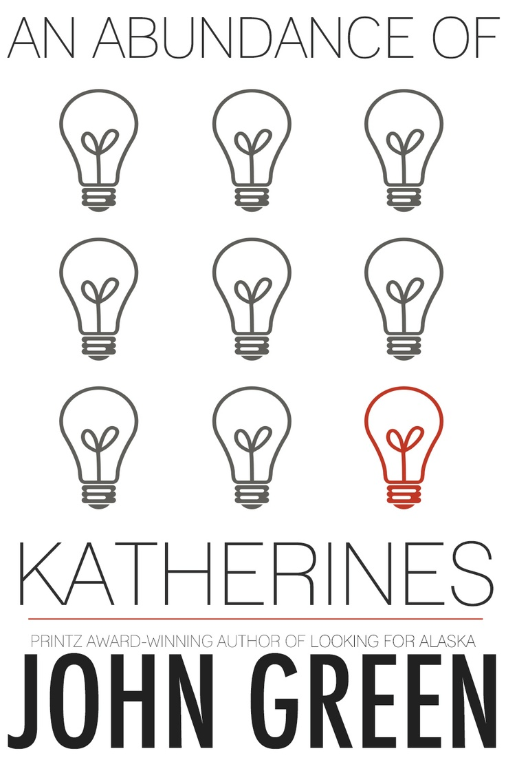 Entry for John Green's AN ABUNDANCE OF KATHERINES cover