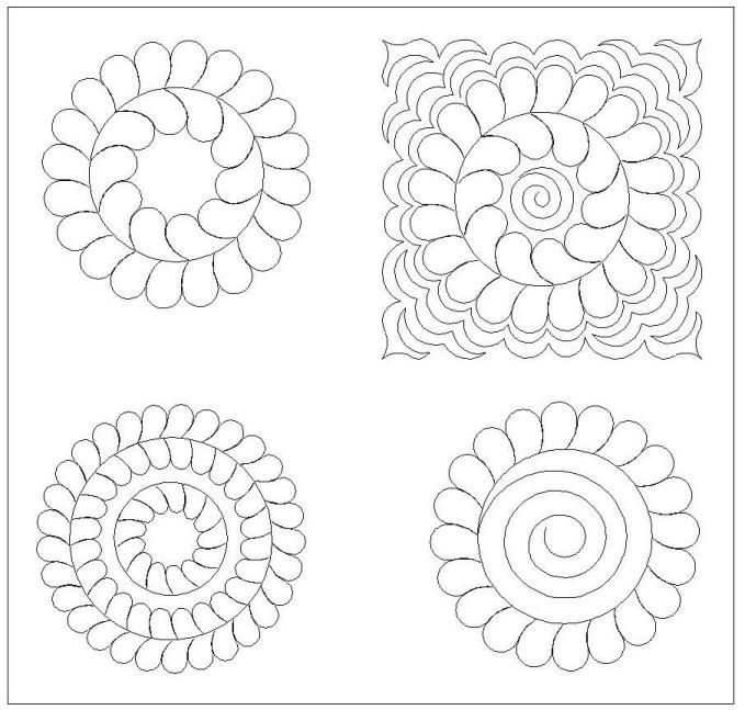 84 best images about Quilt Patterns & Stencils on Pinterest