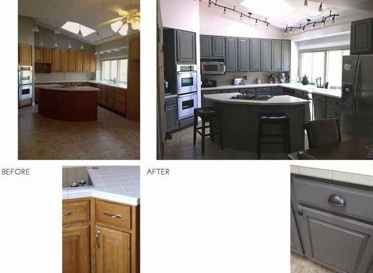 17 Best ideas about Updating Oak Cabinets on Pinterest  Oak kitchen remodel Painted oak