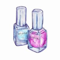 17 Best images about Nail polish illustrations on ...