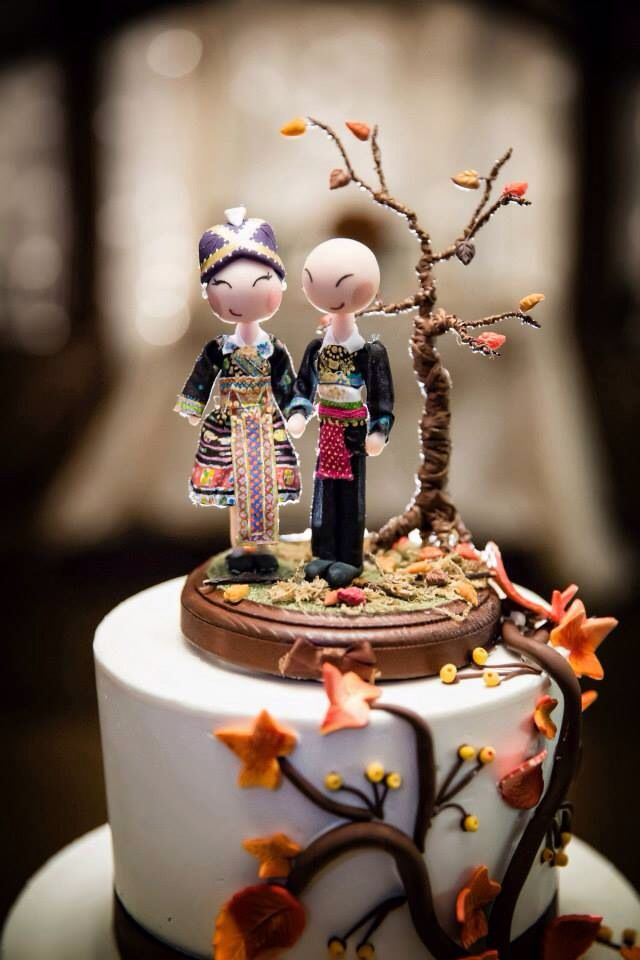 Hmong cake topper  hmong  Pinterest  Cake