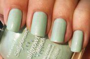manicure mondays - seafoam