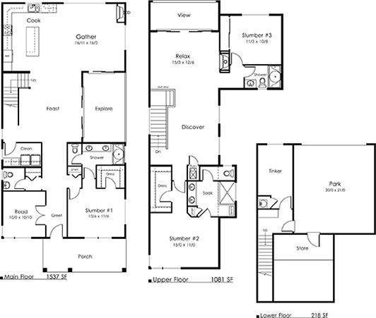81 best images about House Plans I Like on Pinterest