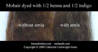 dying with henna, indigo and amla for COOL BRUNNETTE hair