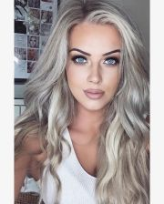 silver blonde hair ideas