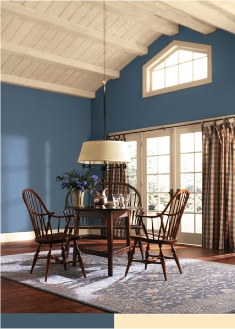 SherwinWilliams Lakeshore SW 6494  Paint Colors for Dining Rooms  Pinterest  Paint colors
