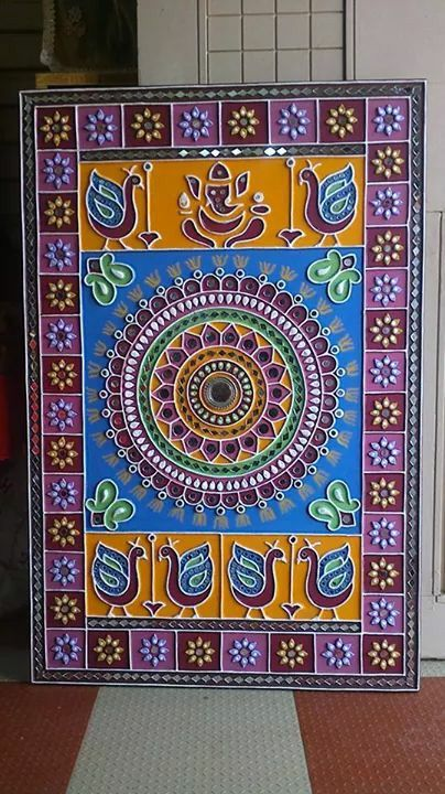 203 Best Indian Folk Art And Paintings Images On Pinterest