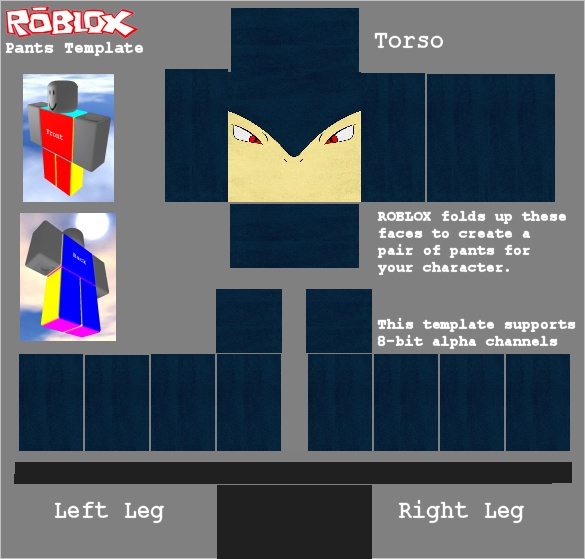 roblox clothing templates