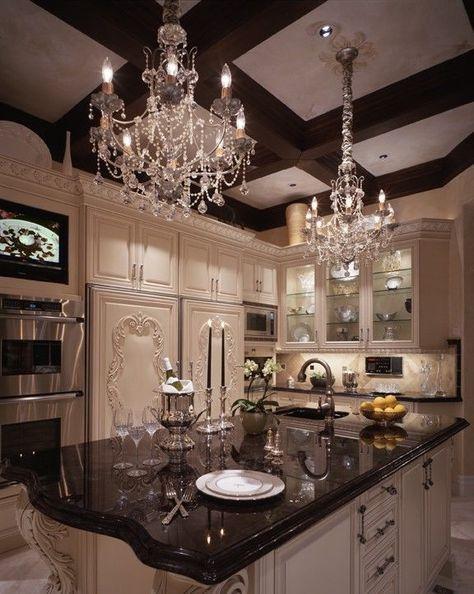 Fancy mansion kitchen