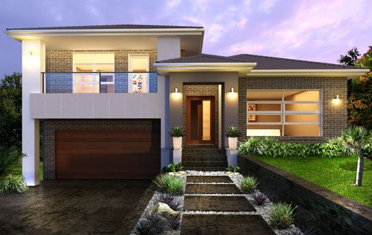 Split Level Houses Tristar 34 5 Split Storey By Kurmond Homes