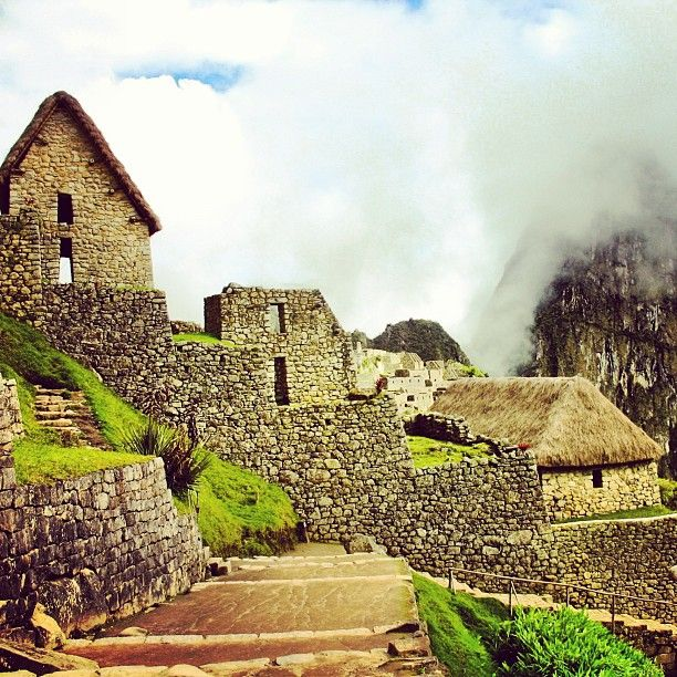 Inca Homes Of Commoners Stone Architecture Pinterest