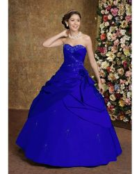 Image detail for -Blue Wedding Dresses Royal Blue Wedding ...
