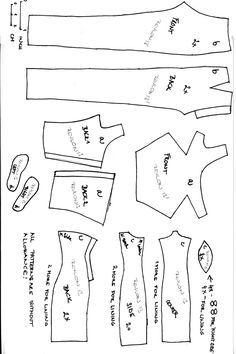 1000+ ideas about Barbie Sewing Patterns on Pinterest