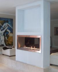25+ best ideas about Double sided fireplace on Pinterest ...
